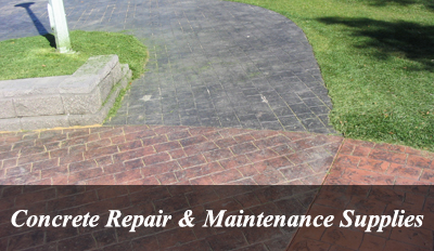 Concrete Repair & Maintenance Supplies