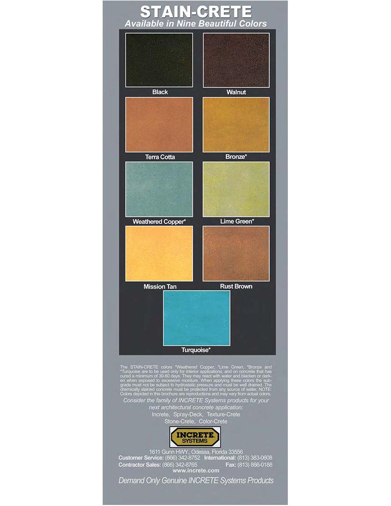 Colour charts con spec industries increte stain crete colour chart geenschuldenfo Images